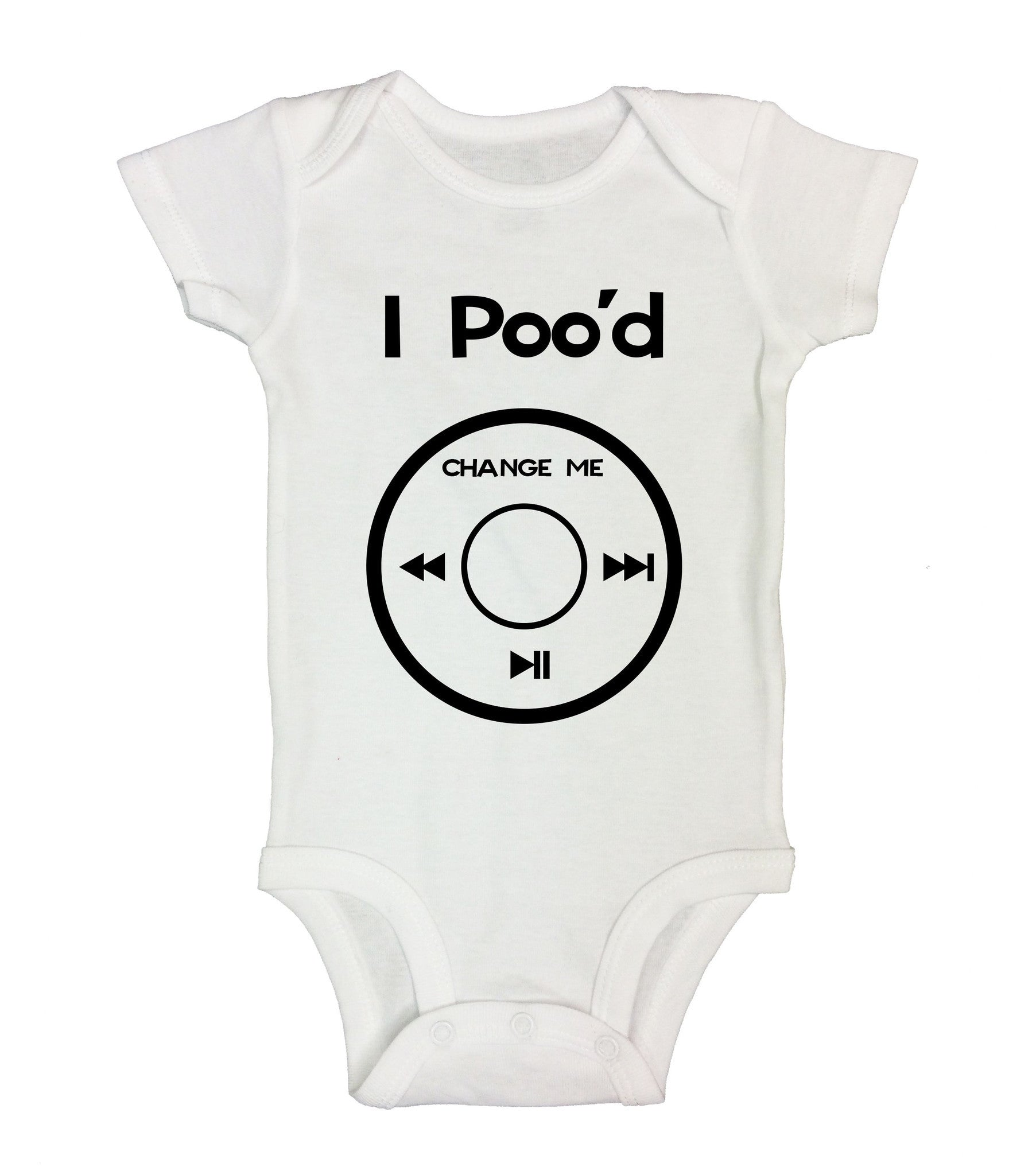 I Poo'd Change Me Funny Kids Onesie - B41 - Funny Shirts Tank Tops Burnouts and Triblends  - 2