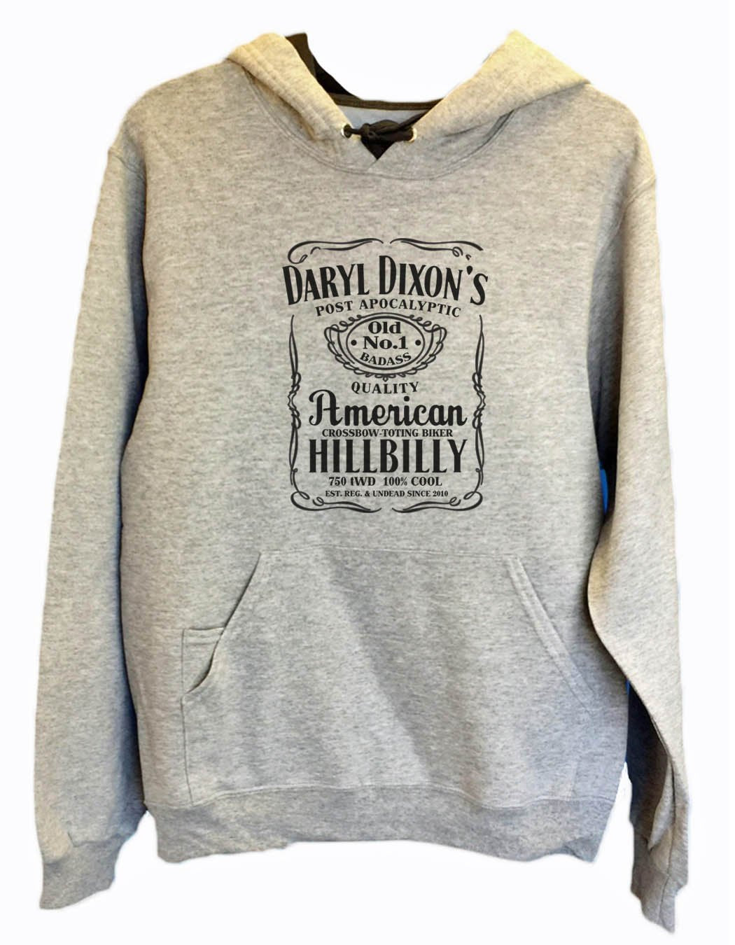 UNISEX HOODIE - Daryl Dixon's American Hillbilly - FUNNY MENS AND WOMENS HOODED SWEATSHIRTS - 2309 Funny Shirt