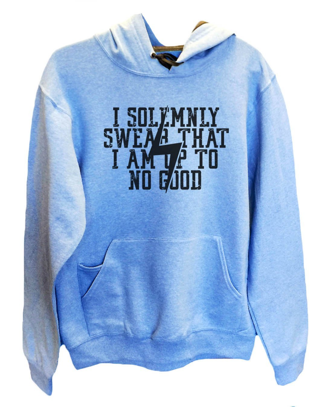 UNISEX HOODIE - I Solemnly Swear That I Am Up To No Good - FUNNY MENS AND WOMENS HOODED SWEATSHIRTS - 2136 Funny Shirt Small / North Carolina Blue