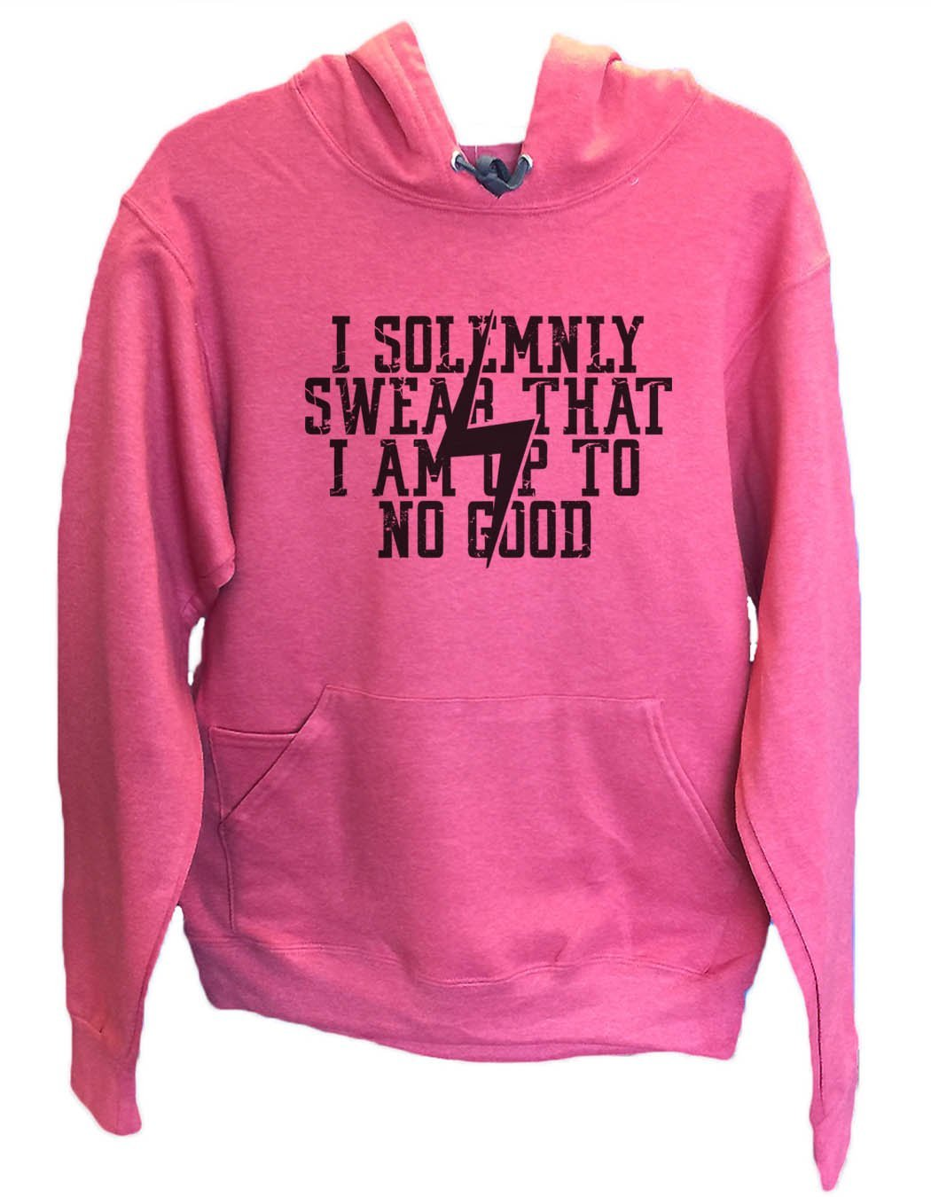 UNISEX HOODIE - I Solemnly Swear That I Am Up To No Good - FUNNY MENS AND WOMENS HOODED SWEATSHIRTS - 2136 Funny Shirt