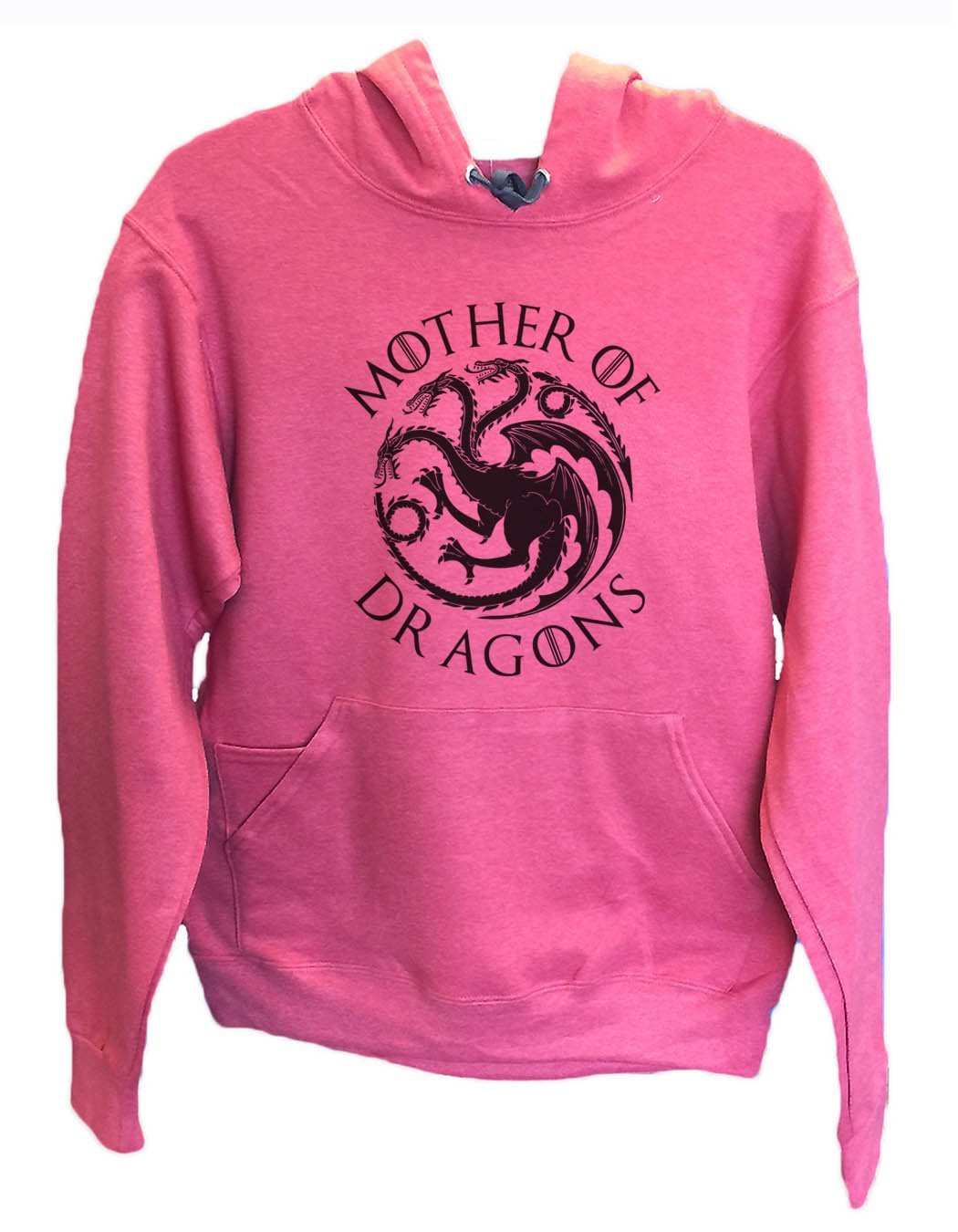 UNISEX HOODIE - Mother Of Dragons - FUNNY MENS AND WOMENS HOODED SWEATSHIRTS - BB15 Funny Shirt Small / Cranberry Red