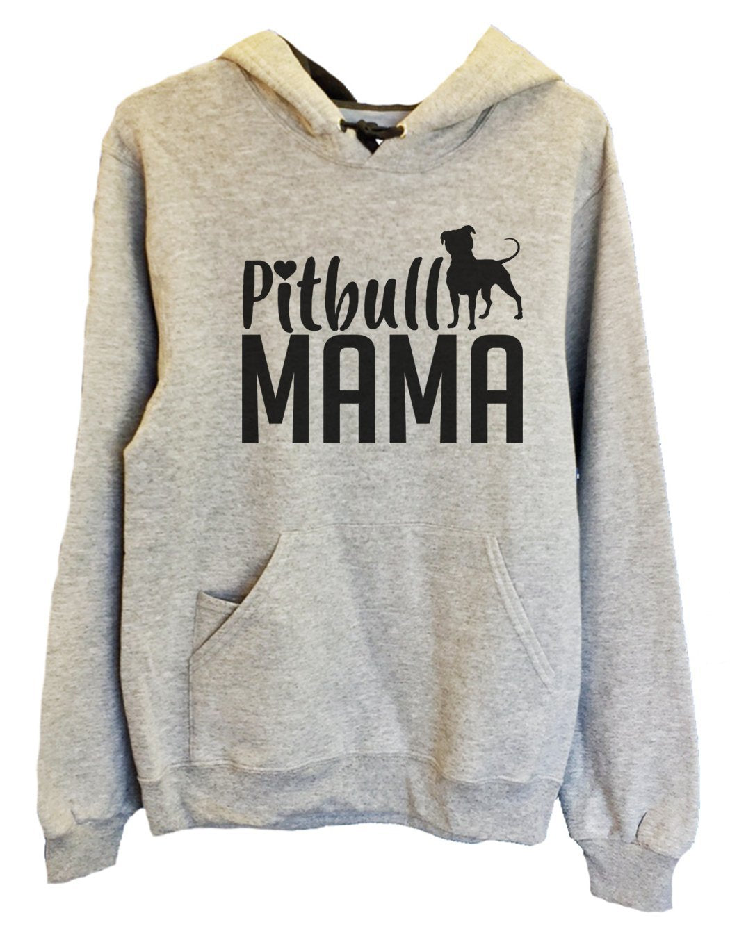 UNISEX HOODIE - Pitbull Mama - FUNNY MENS AND WOMENS HOODED SWEATSHIRTS - 2180 Funny Shirt