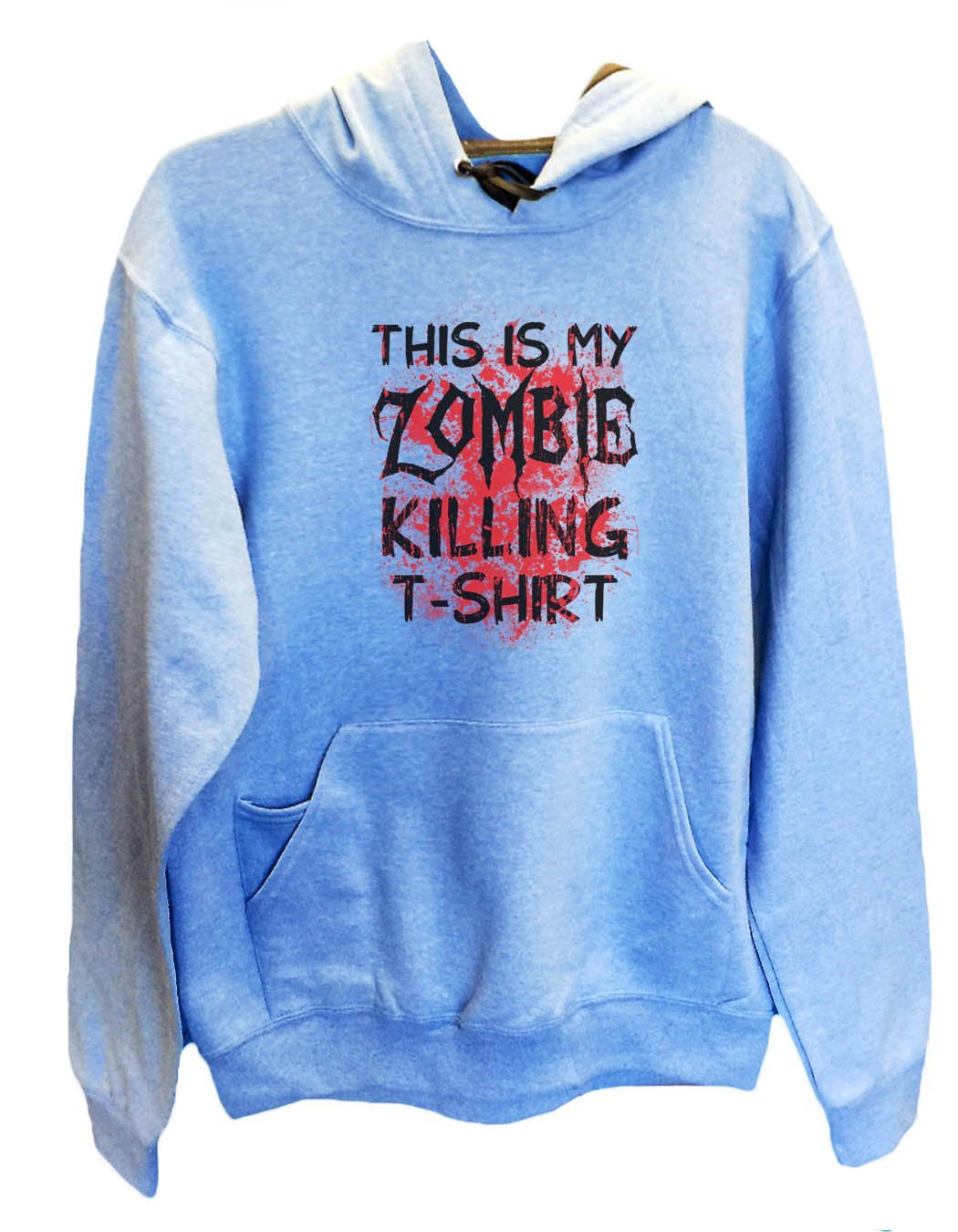 UNISEX HOODIE - This Is My Zombie Killing T-Shirt - FUNNY MENS AND WOMENS HOODED SWEATSHIRTS - 2312 Funny Shirt