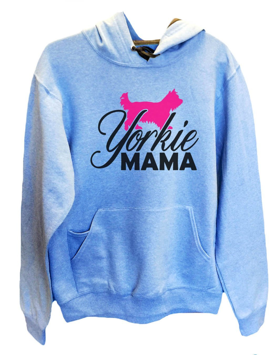 UNISEX HOODIE - Yorkie Mama - FUNNY MENS AND WOMENS HOODED SWEATSHIRTS - 2181 Funny Shirt