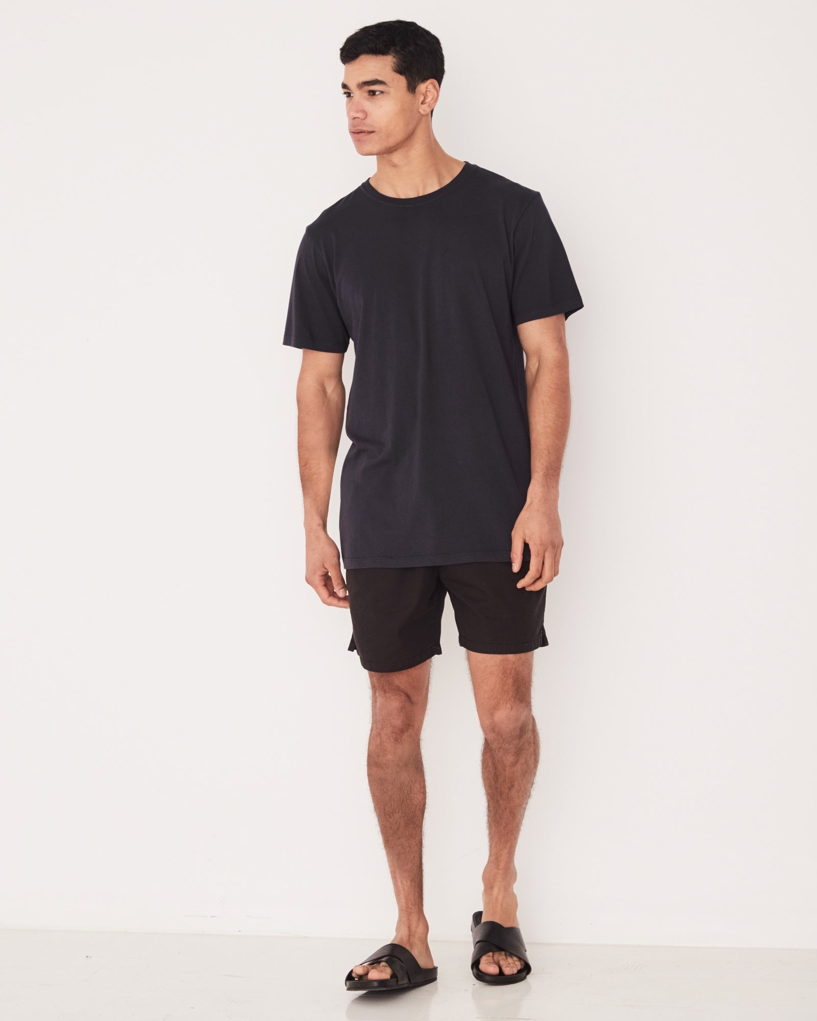 Ocean Swim Short Black