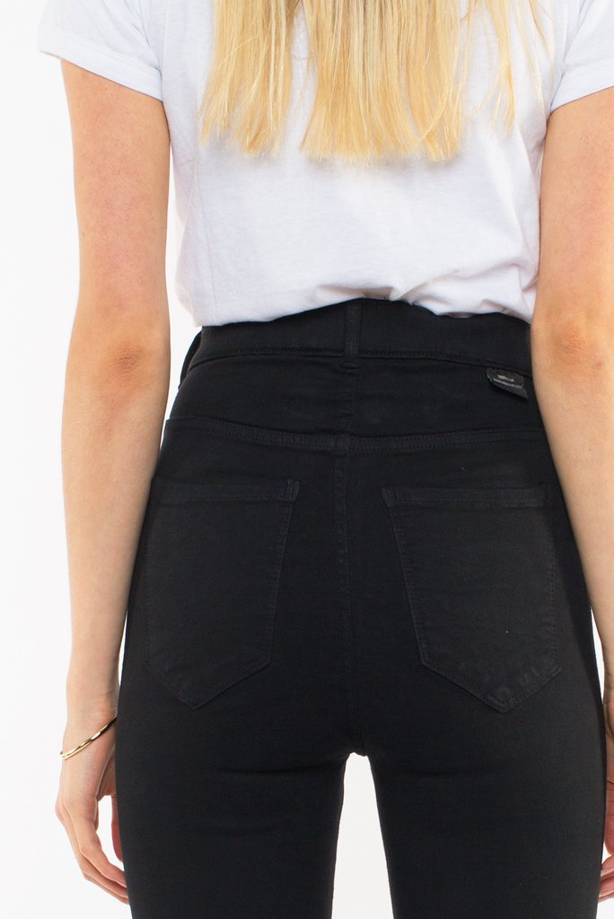 Moxy Black Ripped Knee Jeans