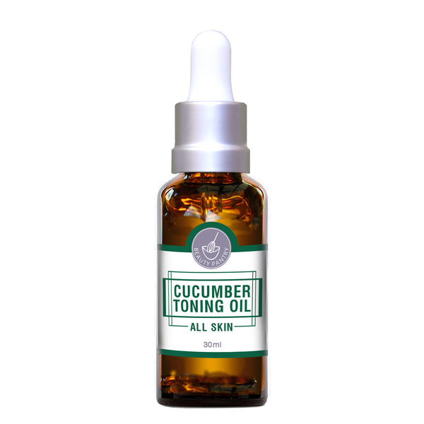 Toning Face Oil - Cucumber