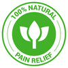 100% Natural Pain Relief
