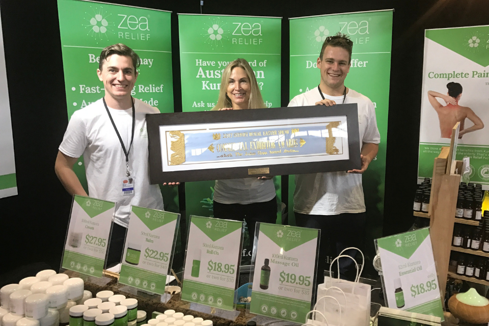 Winners at the Sydney Royal Easter Show 2017
