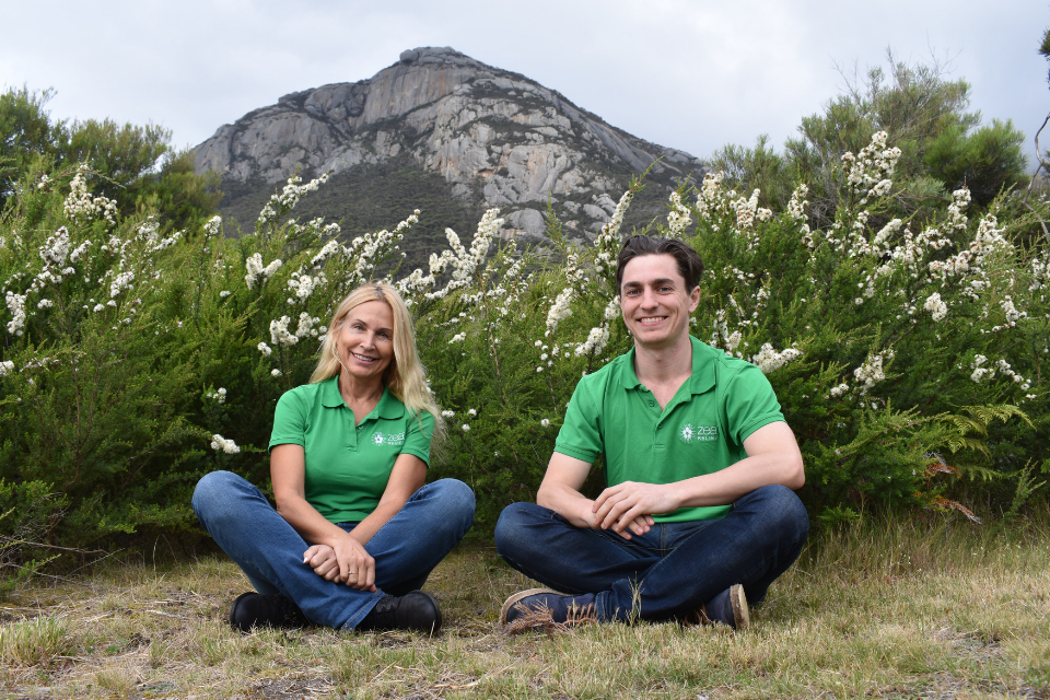 Zea Relief Founders on Flinders Island, Tasmania