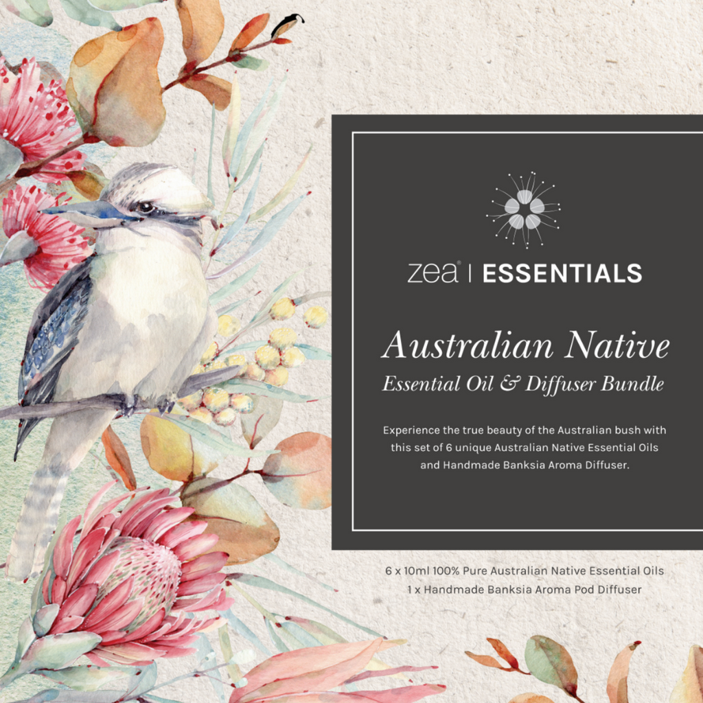 Australian Native Essential Oil & Diffuser Bundle