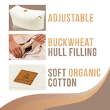 Natural Colored Buckwheat Zabuton | Therapeutic Design Relieves Stress For Total Comfort