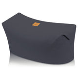 Large Buckwheat Zabuton Therapeutic Yoga Cushion For Meditation | Gray