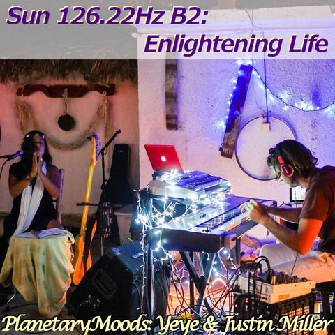 """Enlightening Consciousness"" A Sun1 26.22Hz B2 Astro Guided Meditation By Yeye & Justin Miller (15 mins.)"