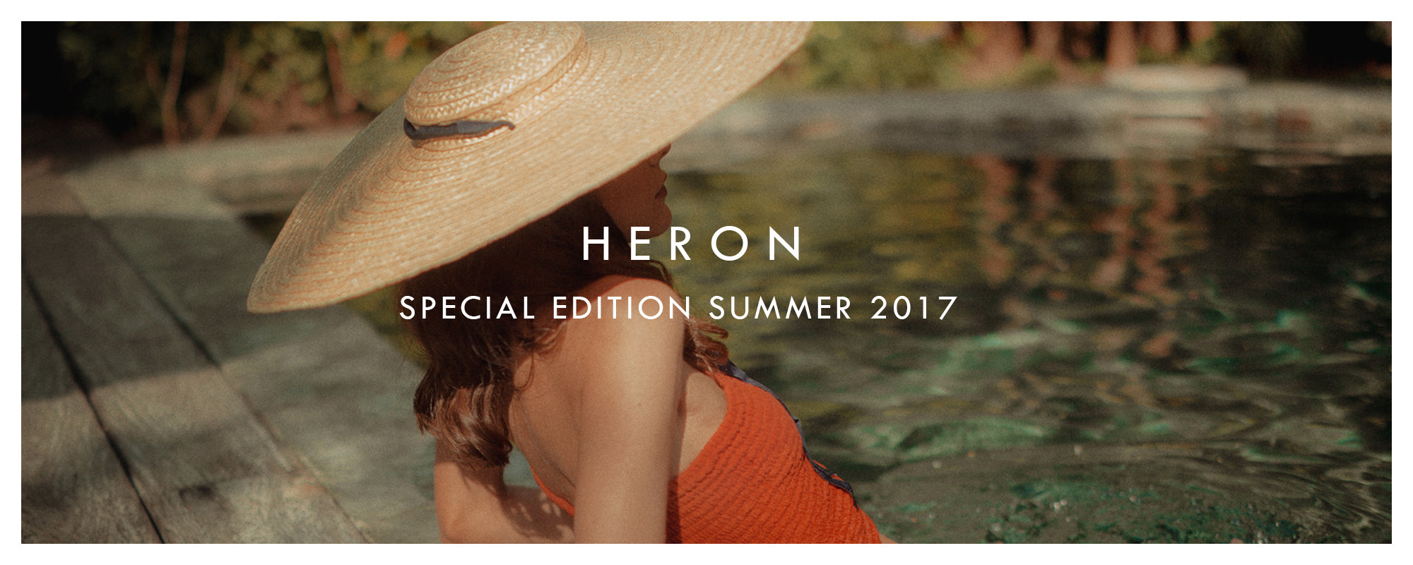 ITS HERON SUMMER COLLECTIONS