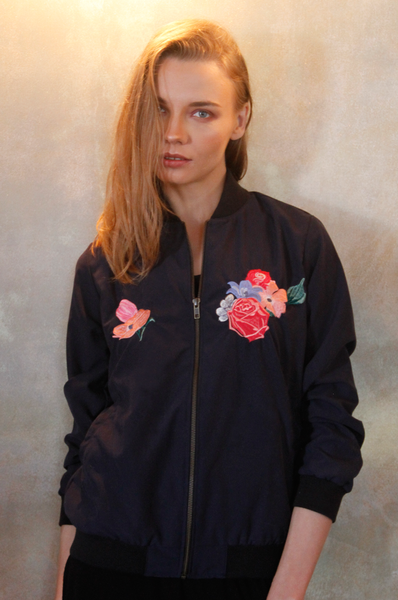 Heron Aurore Jacket women clothing Hand made in Bali