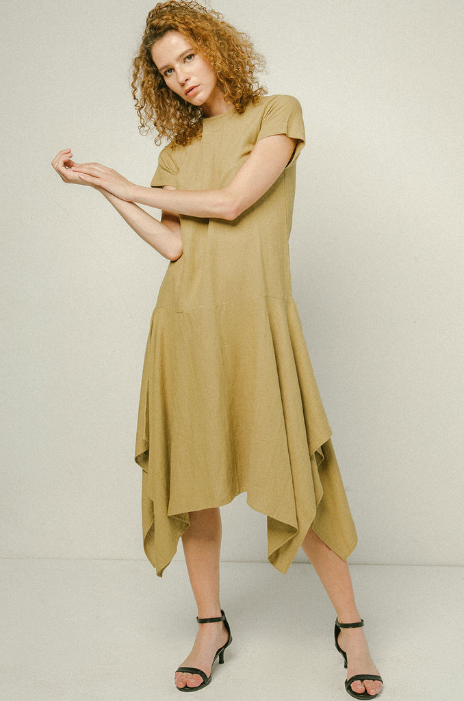 Carmen Midi Dress Heron Dress - Heron clothing brand bali