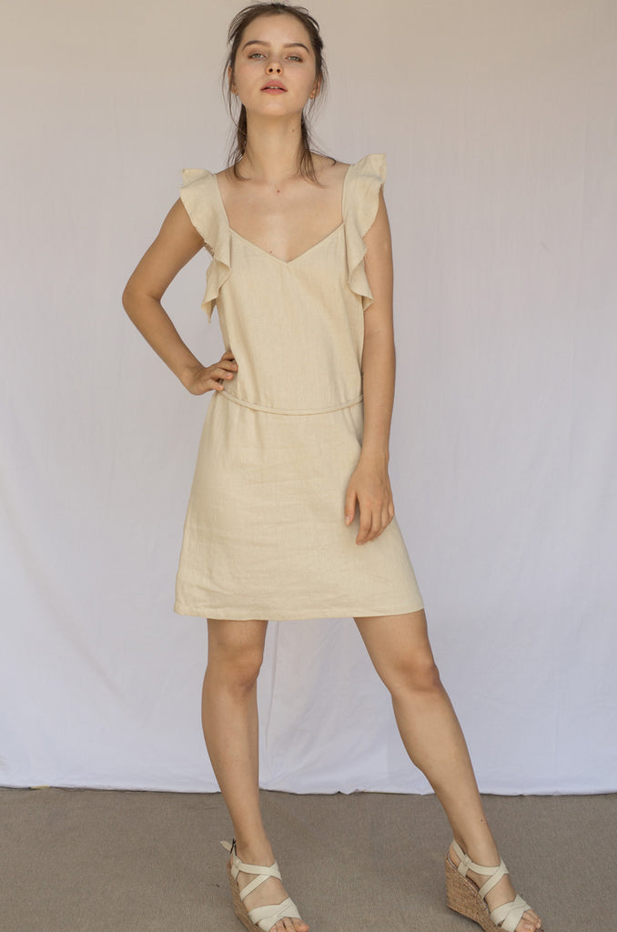 Hibi Mini Dress Heron Dress - Heron clothing brand bali