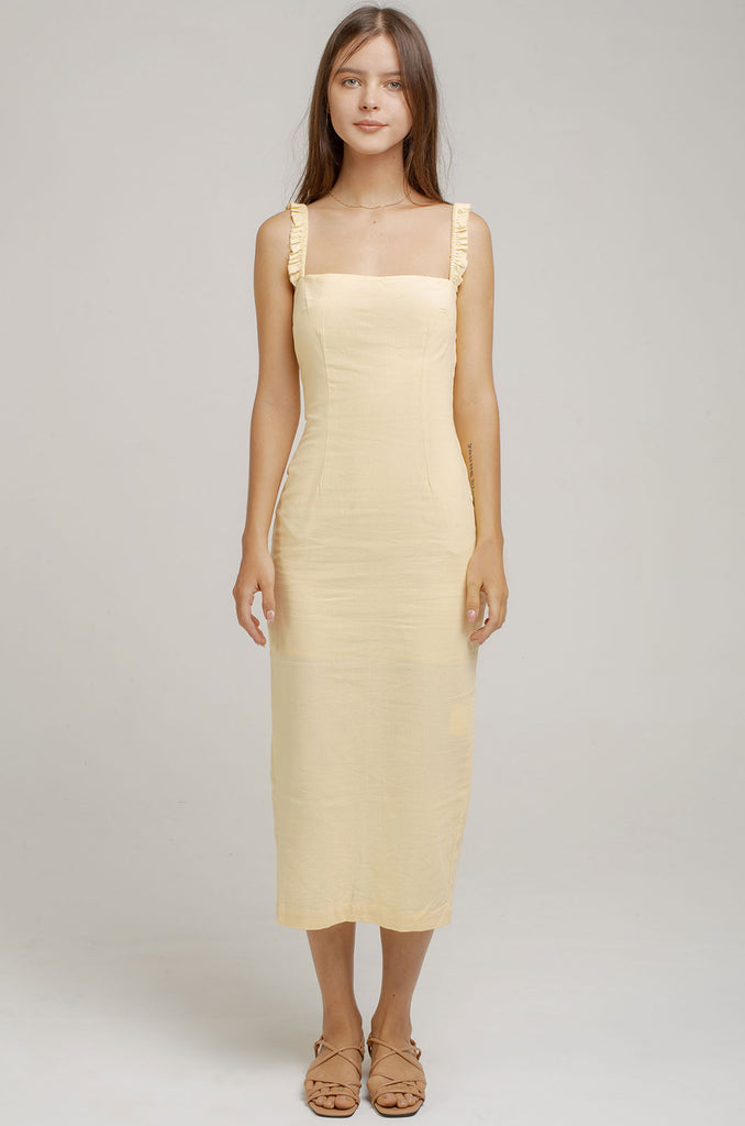 Monte Midi Dress Heron Dress - Heron clothing brand bali