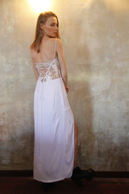 ITS HERON FLITTLE MAXI DRESS MADE IN BALI