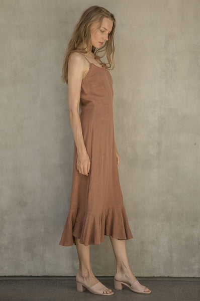 Serena Dress - Heron