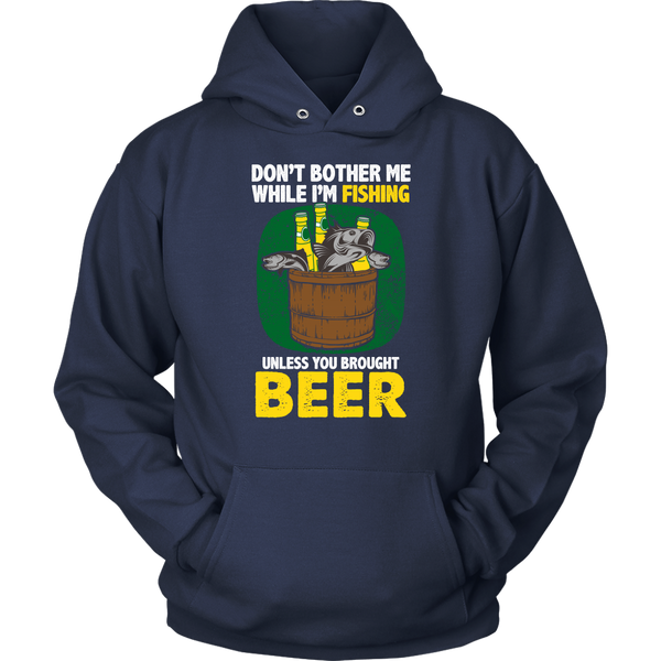 Fishing With Beer- Shirts, Long Sleeve, Hoodie, Tanks