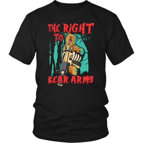 Bear Arms- Shirts, Long Sleeve, Hoodie, Tanks
