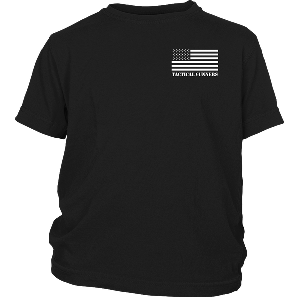 Americans Don't Retreat- Shirts, Long Sleeve, Hoodie