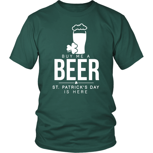 Buy Me a Beer (St. Patrick's Day)- Shirts, Long Sleeve, Hoodie, Tanks