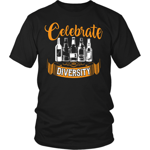 Celebrate Diversity- Shirts, Long Sleeve, Hoodie, Tanks