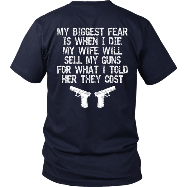 My Biggest Fear- Shirts, Long Sleeve, Hoodie