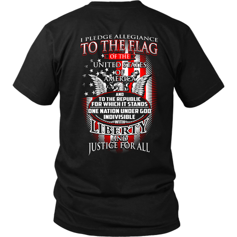 I Pledge Allegiance- Shirts, Long Sleeve, Hoodie