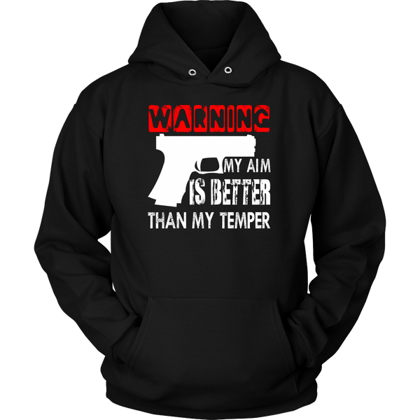 My Aim is Better- Shirts, Long Sleeve, Hoodie, Tanks