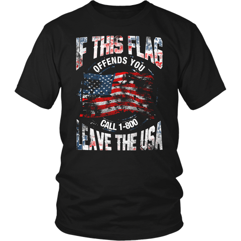 Flag- Shirts, Long Sleeve, Hoodie, Tanks