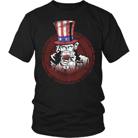 Uncle Sam- Shirts, Long Sleeve, Hoodie, Tanks