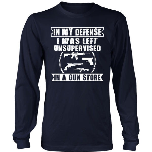 I Was Left Unsupervised- Shirts, Long Sleeve, Hoodie, Tanks