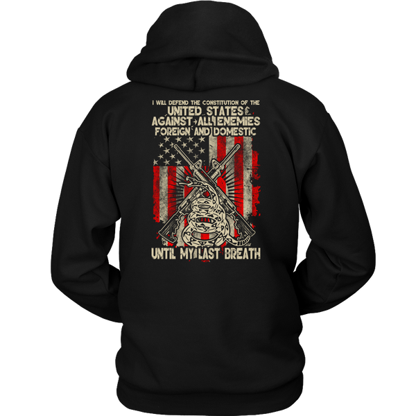 Constitution Defender- Shirts, Long Sleeve, Hoodie