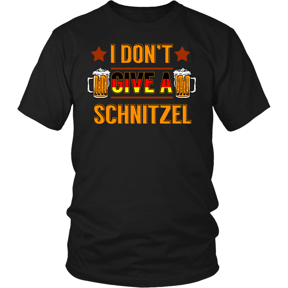 I Don't Give a Schnitzel- Shirts, Long Sleeve, Hoodie, Tanks