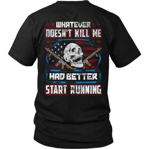 Better Start Running- Shirts, Long Sleeve, Hoodie