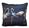 Flamingo group cushion cover