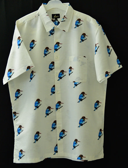 THE KINGFISHER SHIRT IN WHITE