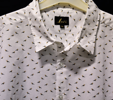 Hoopoe shirt in cotton