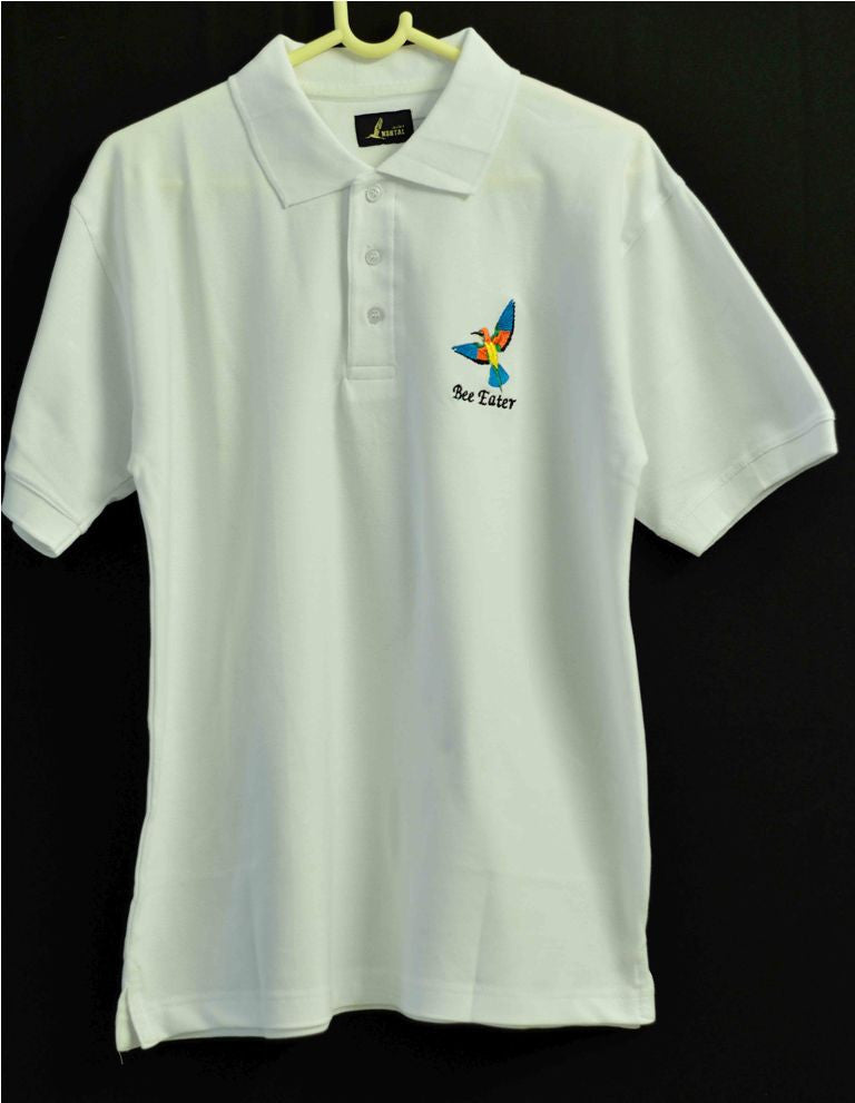 WHITE BEE EATER T SHIRT