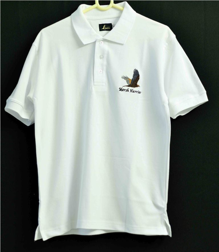 MARSH HARRIER WHITE T SHIRT
