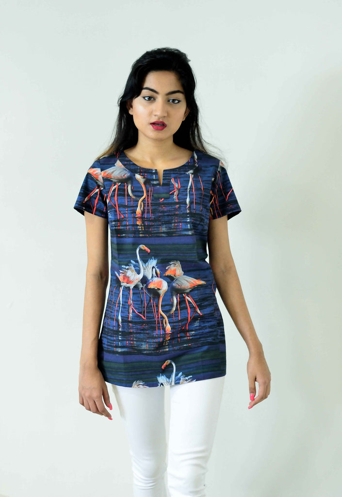 FLAMINGO TOPS FOR WOMEN