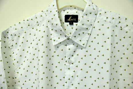 Bee Eater pure cotton shirt for men