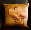 Flamingo Pair No.1 Cushion covers (16 in.-40 cm. or 18 in.-45 cm. size cushions)