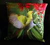 Oriental White Eye on a bottle brush Cushion covers (16 in.-40 cm. or 18 in.-45 cm. size cushions)