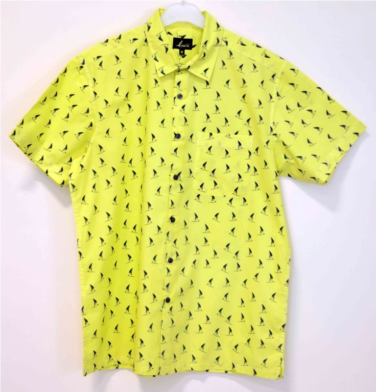 Yellow Tern shirt for men