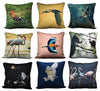 Group of Egrets Cushion cover
